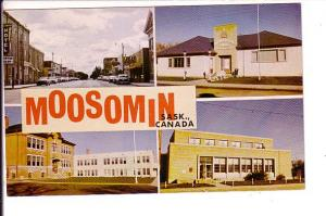 Downtown, Hall, School, Post Office, Moosomin,  Saskatchewan,