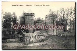 Postcard Old Chateau De Lassay