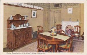 Dining Room In Gen U S Grants Home Galena Illinois