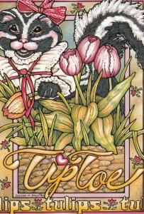 Artist Leanne C. BOYD , 1987 : Tiptoe through the Tulips
