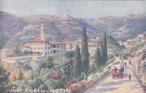 Laghet , France, 1900-1910´s; Vue Sur Le Monastere