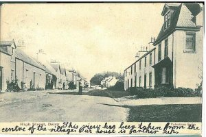 GB POSTCARD - DALRY - HIGH STREET 1903
