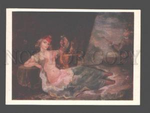 080423 SLAVE Woman in HAREM & Musician Old Russian PC