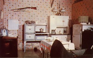 NE - Minden. Pioneer Village. 1930 Kitchen