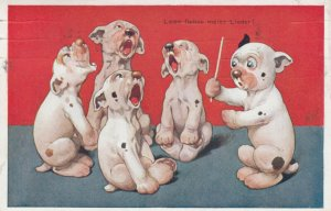 George E. Studdy; Bozo The Dog , Choir , 1922