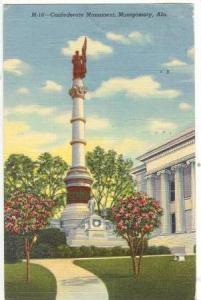 Confederate Monument , Montgomery , Alabama , PU-1951