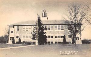 Lyme Connecticut Flanders School Exterior Antique Postcard K19452