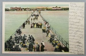 Old Orchard Pier, Old Orchard Beach ME 1906 UDB Postcard (#7256)