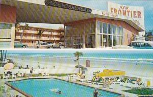 Florida Daytona Beach New Frontier Motel With Pool