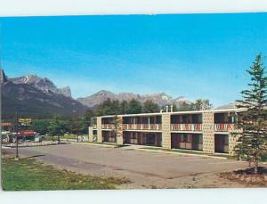 Pre-1980 PIGEON MOUNTAIN MOTEL & STANDARD GAS STATION Canmore ALBERTA hs3965