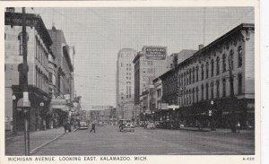 Michigan Kalamazoo Michigan Avenue Looking East sk5975