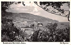 Portugal Old Vintage Antique Post Card Redi's Hotel Madeira 1953