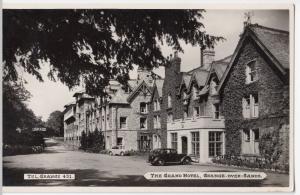 The Grand Hotel, Grange over Sands RP PPC, Unposted, Hotel & Gardens, Bamforth