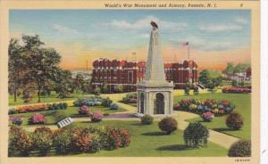 New Jersey Passaic world War Memorial and Armory 1941