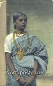 Ceylon, Ceylan, Sri Lanka Ceylon Kandyan Woman