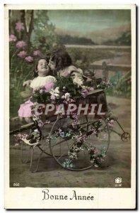 Fantasy - Children - Girl - Happy New Year - Flower - Suzanne Lehman - chario...