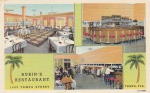 TAMPA , Florida , 1930-40s ; Rubin's Restaurant