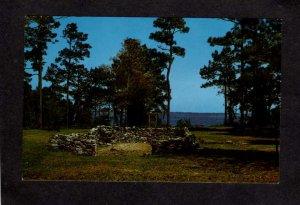 NC Old Brunswick Town Park nr Wilmington and Southport North Carolina Postcard