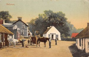 Occupation, Blacksmith Post Card Man Shoeing a Horse Unused