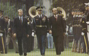 President Jimmy Carter and President Carlos Andres Perez Of Venezuela
