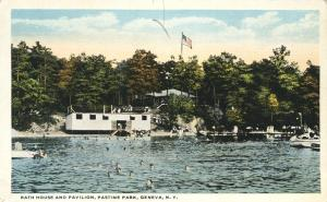 Bath House and Pavilion Pastime Park - Geneva NY, New York - WB