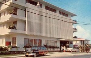 San Juan Puerto Rico La Rada Hotel Vintage Postcard J48409