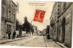 CPA AK Chateauvillain - Le Poste (270431)