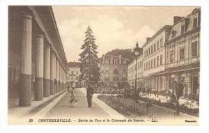 Entree du Parc et la Colonnade des Sources, Contrexéville, France, 1900-1910s