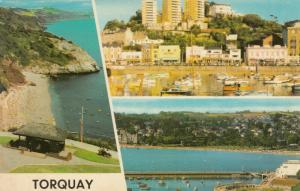 TORQUAY , England, 1940-60s; The Downs, Babbacome, The Harbour
