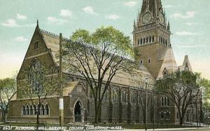 MA - Cambridge, Harvard College Memorial Hall