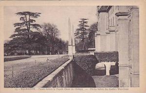 MALMAISON, Ditchs before the Castle's West-front, Paris, France, 10-20s
