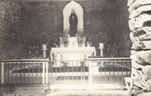 RP: MT VERNON , Colorado , 1930-40s ; Shrine of Saint Francis