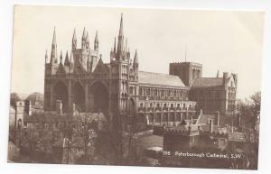 UK England Peterborough Cathedral Kings Lodging Postcard Real Photo