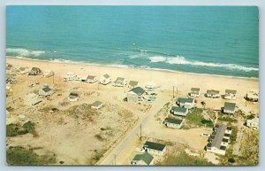 Postcard MD Fenwick Island Airview Peppers Surfside Cottages Beach Houses U8