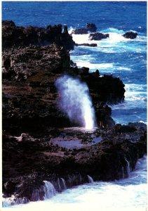 Hawaii Oahu Mauui Kauai Blow Holes 1992