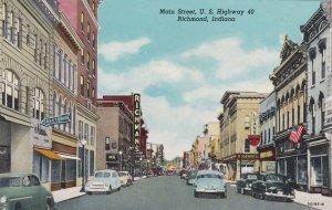 Indiana Richmond Main Street U S Highway 40 Curteich sk6405