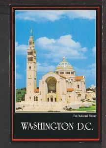 The National Shrine Washington DC Postcard BIN