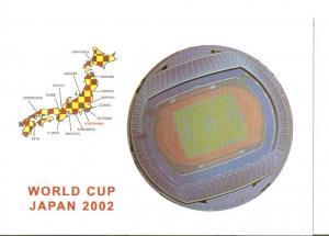 Postal 025638 : Yokohama International Sport Park. World Cup Japan 2002