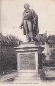 STRASBOURG , Germany [now France] , 00-10s ; Statue de Kleiber