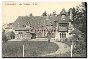Old Postcard Dives sur Mer Normandy Villa