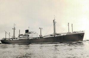 Rotterdamsche Lloyd m.s. Wonosari Ship Vintage RPPC BS.10