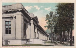 TOLEDO, Ohio, 1918, Entrance to New Post Office