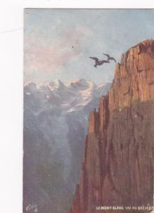 FRANCE, 1900-10s; Le Mont-Blank Vu Du Brevent; TUCK 104 # 10