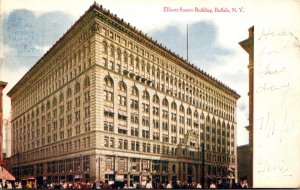 New York Buffalo Ellicott Square Buidling 1908