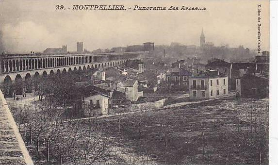 Panorama Des Arceaux, Bridge, Montpellier (Hérault), France, 1900-1910s