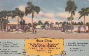 Florida Fort Myers River Court 1951