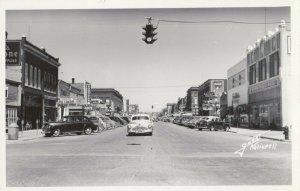 RP: KALISPELL , Montana, 1940s ; Main Street