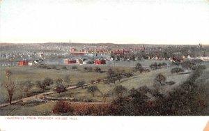Haverhill from Powder House Hill Massachusetts Postcard