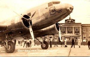 Missouri St Louis Giant Air Liner Trans World Airways City Of St Louis&...
