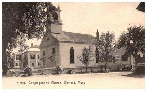 Massachusetts Wayland , Congregational Church